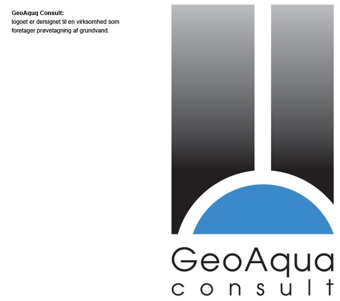 Janne Vinther Portfolio Logo for GeoAqua